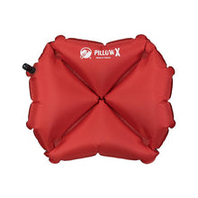 Load image into Gallery viewer, KLYMIT Pillow X Red / Grey Ultra-Lite Ultra Comfortable Centering Pillow