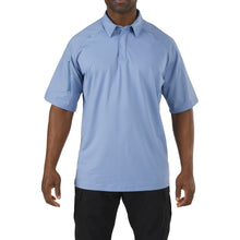 Load image into Gallery viewer, 5.11 RAPID PERFORMANCE POLO (696) Fire Medium Blue 41018