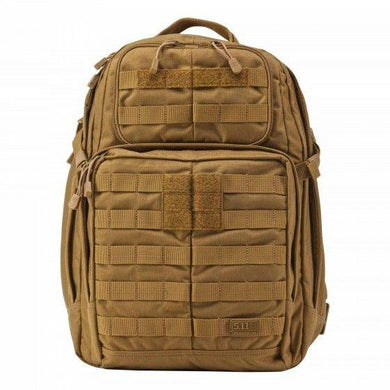 5.11 Rush 24HR Backpack Multipurpose Bag High Performance Black/Sand/Olive/Camo - Hunter Valley Tactical