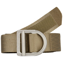"Load image into Gallery viewer, 5.11 TRAINER BELT 1 1/2"" (Mat Stainless Steel Buckle) (328) Sandstone 59409"