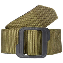 "Load image into Gallery viewer, 5.11 DOUBLE DUTY TDU BELT 1.75"" (190) Black/TDU Green 59567"