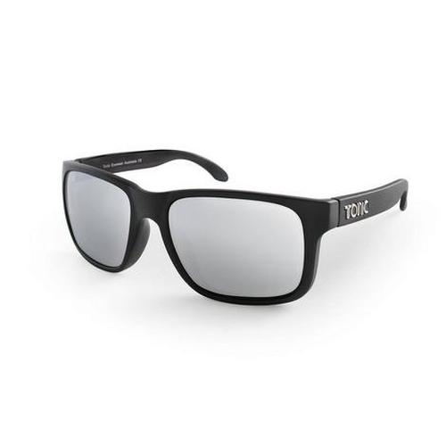 TONIC Shades MO Silver Mirror Matt Black Slicelens Tonic Fishing Glasses