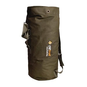 Oztrail Canvas Duffle Bag Army Military Style Outdoor Camping BPC-DUFA-D