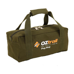 Oztrail Tent Peg Bag with Pegs Combo PTT-PO225-B BPC-PEG-D