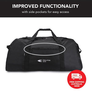 Multipurpose Black Duffel Bag Suitable for Hunting & Camping DB_600