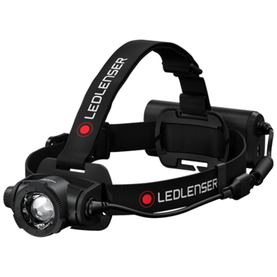 LED LENSER H15R CORE RECHARGEABLE 2500 LUMEN HEADLAMP BLACK 502123