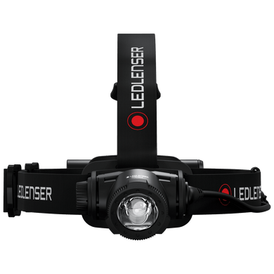 LED LENSER H7R CORE 1000 LUMEN RECHARGEABLE HEADLAMP BLACK 502122
