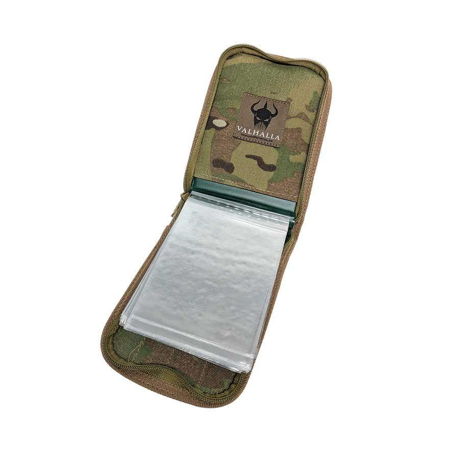 VALHALLA CORDURA Notebook Cover Large Rugged Tactical Military Grade