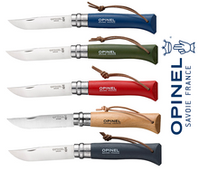 Load image into Gallery viewer, OPINEL Trekking No08 Folding Knife - Many Colours - 001891