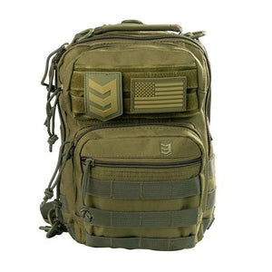 3VGEAR Posse EDC Sling Pack Black/Olive/Grey/Tan Small Conceal Carry Shoulder Bag - Hunter Valley Tactical