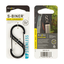 Load image into Gallery viewer, Nite Ize S-BINER DUAL CARABINER #4 XNLSB401R3