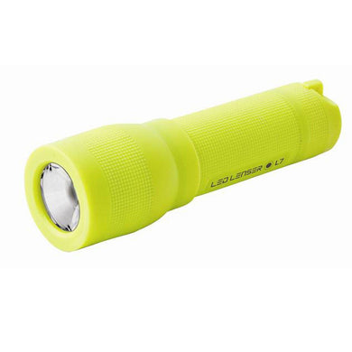 Led Lenser L7 High Visibility Yellow Torch Shock Proof Lightweight ZL7058YA - Hunter Valley Tactical