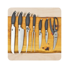 Load image into Gallery viewer, Companion 8 Piece Stainless Steel Knife Set