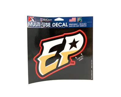 "Wincraft El Paso Chihuahuas Multi-Use ""EP"" Decal"
