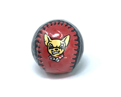Jarden El Paso Chihuahuas Wordmark and Dog Head Mini Ball