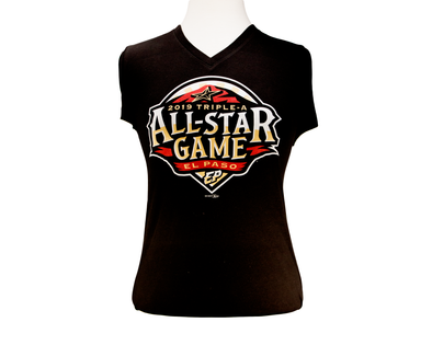 Bimm Ridder Women's  El Paso Chihuahuas All-Star Game V-Neck Tee