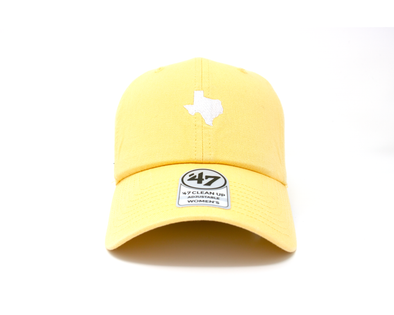 '47 Brand Adjustable El Paso Chihuahuas Yellow Texas Cap