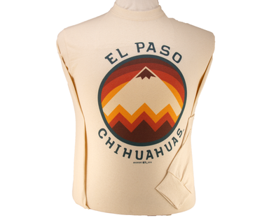 MV Sport Men's El Paso Chihuahuas Mountainscape Long Sleeve Tee