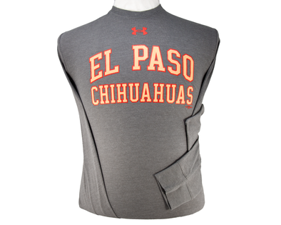 UA Men's El Paso Chihuahuas Long Sleeve Carbon Cotton Tee