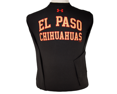 UA Men's El Paso Chihuahuas Long Sleeve Black Cotton Tee
