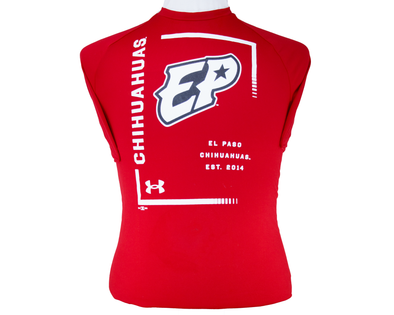 UA Men's El Paso Chihuahuas Red Tech Short Sleeve Tee