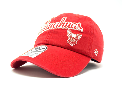 '47 Brand Adjustable El Paso Chihuahuas Red Script Cleanup Cap