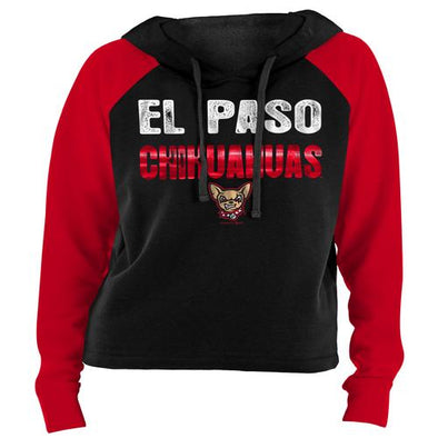 New Era El Paso Chihuahuas Women's Contrast French Terry Hoodie
