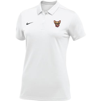 El Paso Chihuahuas NIKE- WMN WHITE DOG HEAD POLO