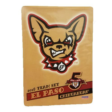 CHOICE El Paso Chihuahuas 2018 Team Card Set
