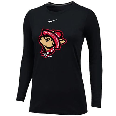Nike Women's El Paso Chihuahuas Long Sleeve Howling Dog Tee