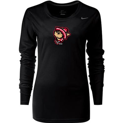 Nike Women's El Paso Chihuahuas Legend Howling Dog Long Sleeve Tee