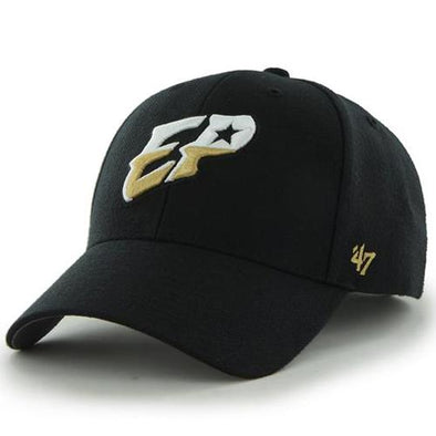 '47 Brand Adjustable El Paso Chihuahuas Black EP Cap