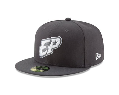 New Era 5950 Official El Paso Chihuahuas On Field Gray Road Cap