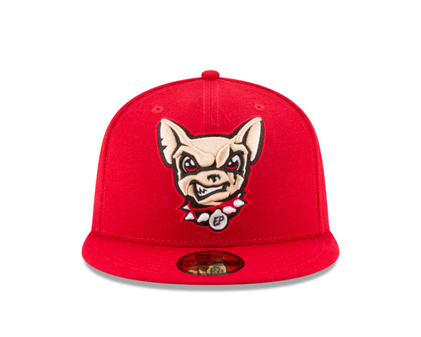 New Era 5950 El Paso Chihuahuas Red Dog Head Cap