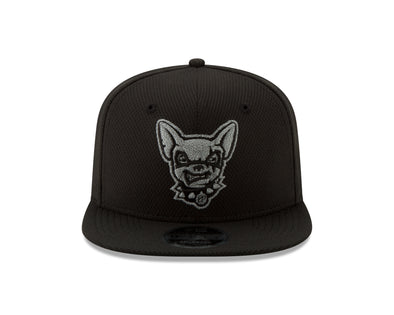New Era 9FIFTY Black Tonal Flect Dog Head OTC OSFM