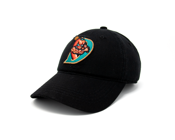 OC Sports El Paso Chihuahuas Unstructured Black Diablos Cap