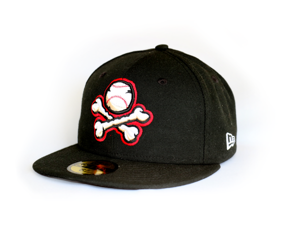 New Era 5950 El Paso Chihuahuas Black Alternate 3 BP Crossbones Cap