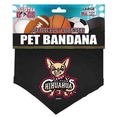 All Star Dog El Paso Chihuahuas Large Dog Bandana