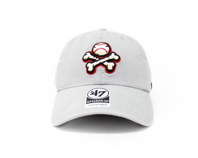 '47 Brand Adjustable El Paso Chihuahuas Grey Crossbones Cap