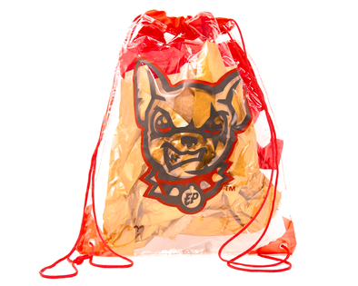 El Paso Chihuahuas Clear Cinch Bag