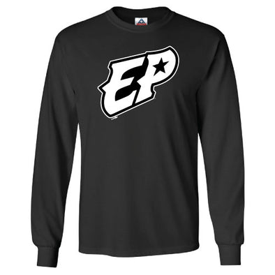 "Bimm Ridder El Paso Chihuahuas Long Sleeve Black ""EP"" Shirt"