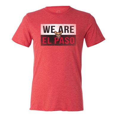 "108 Stitches Men's El Paso Chihuahuas ""We Are El Paso"" T-Shirt"