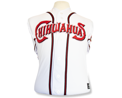 OT Sports Adult El Paso Chihuahuas Replica Home White Jersey