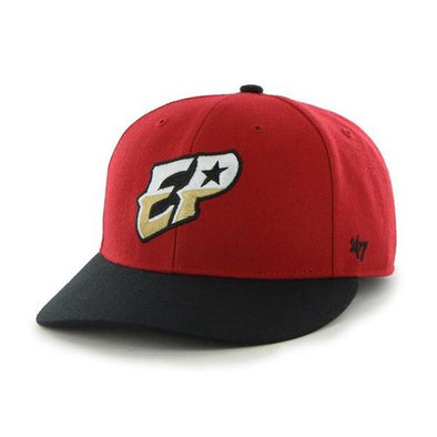 '47 Brand Adjustable El Paso Chihuahuas Red EP Cap