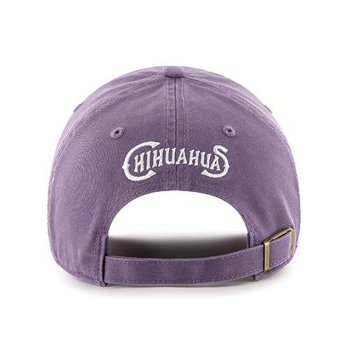 '47 Brand Adjustable Women's El Paso Chihuahuas Purple Texas State Cap