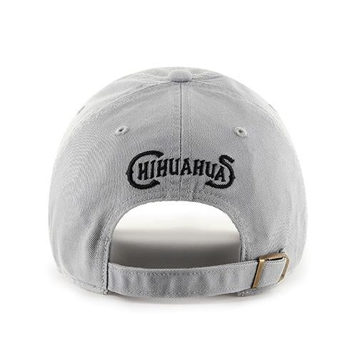 '47 Brand Adjustable El Paso Chihuahuas Grey Texas Cap