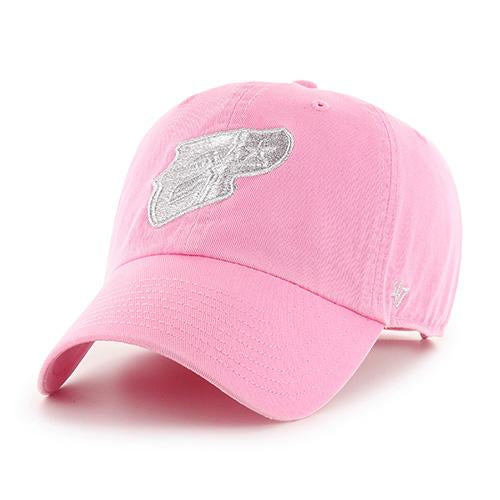El Paso Chihuahuas HAT- 47' ROSE METALLIC EP CLEAN UP