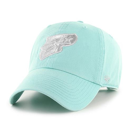 '47 Brand Adjustable El Paso Chihuahuas Tiffany Blue EP Cap
