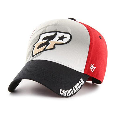 '47 Brand Youth Adjustable El Paso Chihuahuas Tri-Color EP Cap