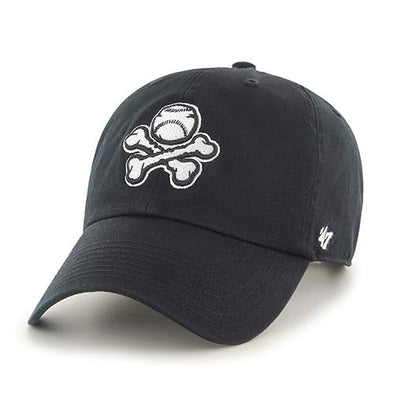 '47 Brand Adjustable El Paso Chihuahuas Black and White Crossbones Cap